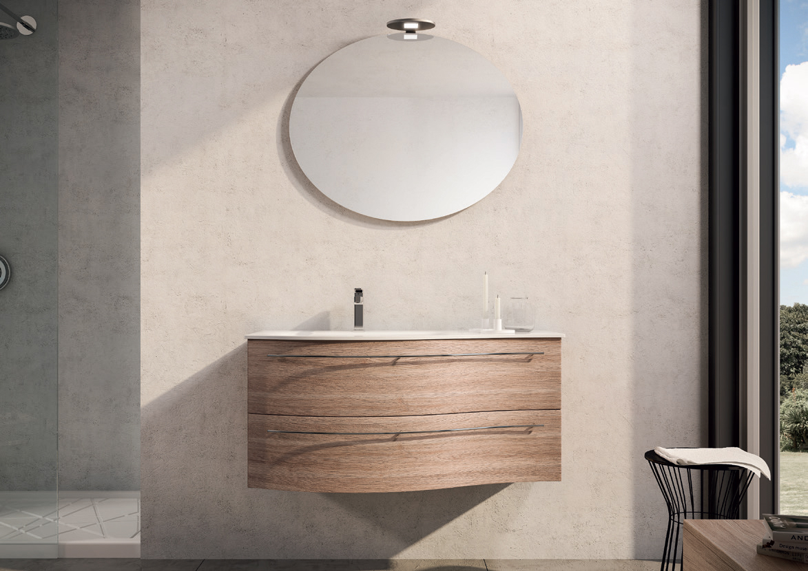 Mobile bagno olmo bianco totalwhite bathroom shower home