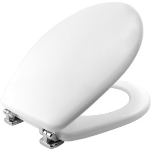 Sedile per WC Colibrì Pozzi Ginori anche Gemma Ideal Standard, Carrara & Matta colore Bianco Lucido Cod. 34130000