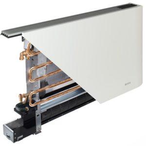Impianto radiante bassa temperatura a Ventilconvettori