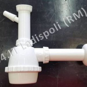 Sifone in plastica 1 via con attacco lavatrice D 40