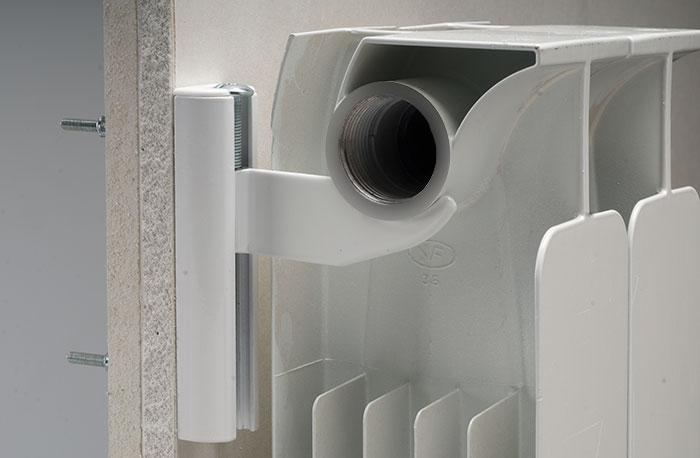 Mensole radiatori alluminio pareti cartongesso for Mensole in alluminio