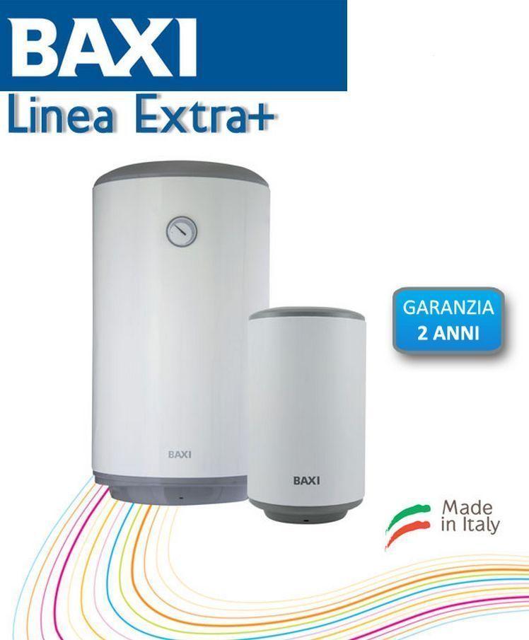 Scaldabagno elettrico baxi linea extra plus 50 litri verticale - Scaldabagno elettrico istantaneo basso consumo ...