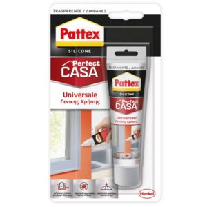 Silicone PATTEX Perfect Casa 50ml trasparente