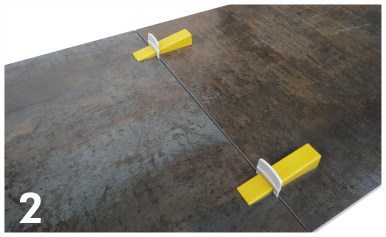Distanziatore livellante sap 3 da 3 mm 250 pezzi grl94.it