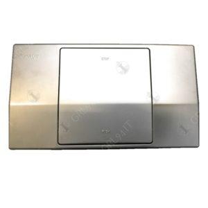 Placca per cassetta incasso CATIS 10 Litri Cromo Satinato