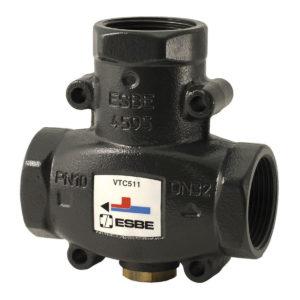 Valvola anticondensa ESBE per termostufa
