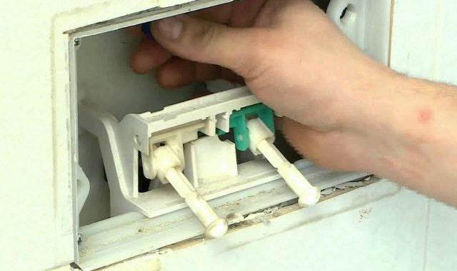 Manutenzione della cassetta incasso wc grl