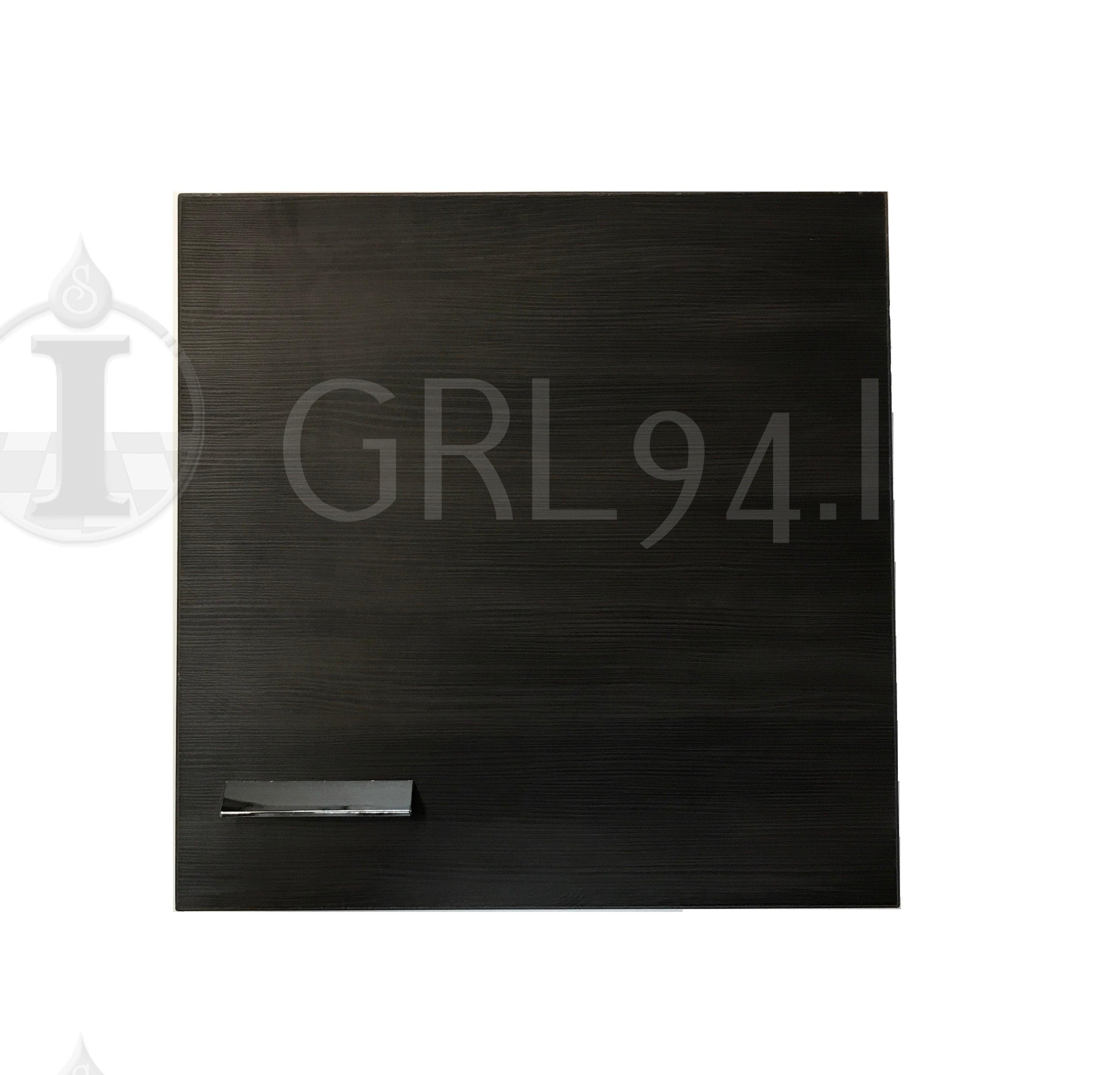GRL94.IT Pensile Bagno Cubo Colore Rovere Fumo