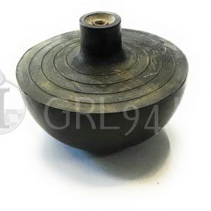 Guarnizione gomma nera diametro 68