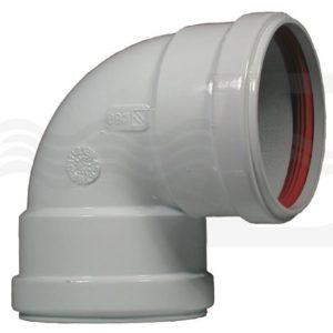 Curva 90 gradi FF Diametro 80 alluminio