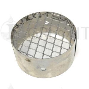 Terminale Aspirazione Diametro 80 Alluminio