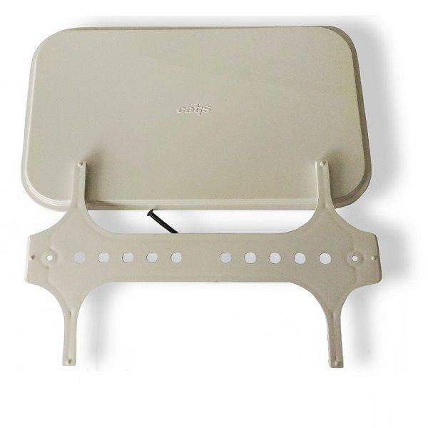 Catis Kit Placca Esterna cassetta 14Lt bianca E3200