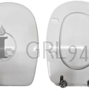 Sedile Copriwc Novasedili modello LAGOLUNGO ceramica DOLOMITE