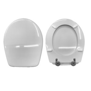 Sedile Copriwc Novasedili POING ceramica ESEDRA, Sedile Copriwc Novasedili perfettamente compatibile serie Poing della ceramica Esedra.