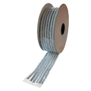 Stucco per lavelli 10×3 grigio 6 file da 1 metro