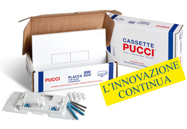PUCCI Kit PLACCHE Eco SP 12 MM per Casette dal 1992